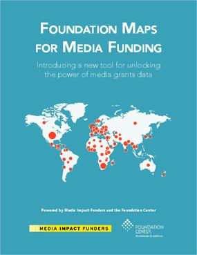 Foundation Maps for Media Funding