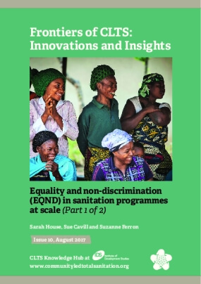 Equality and Non-discrimination (EQND) in Sanitation Programmes at Scale (Part 1)
