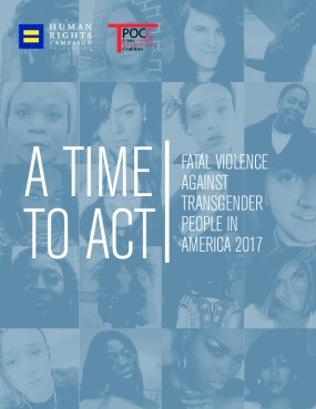 Fatal Violence Against Transgender People in America 2017