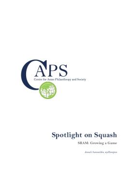 Spotlight on Squash