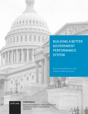 Building a Better Government Performance System